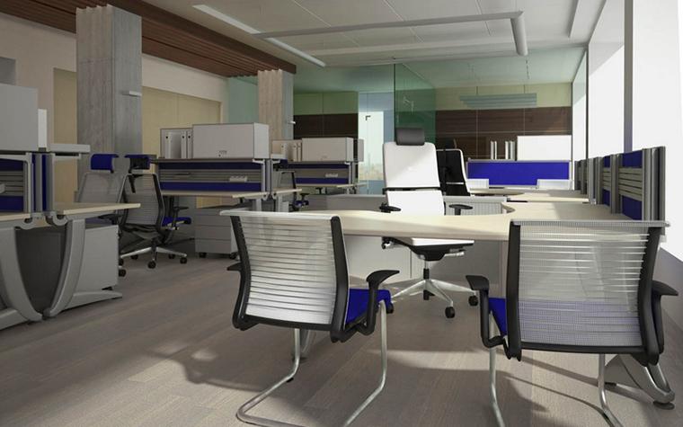 Дизайн офиса. офисы из проекта , фото №15374