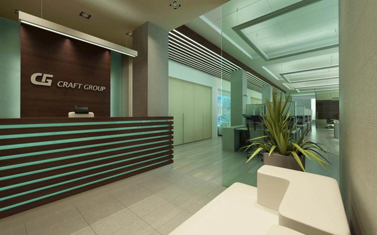 Дизайн офиса. офисы из проекта , фото №15375