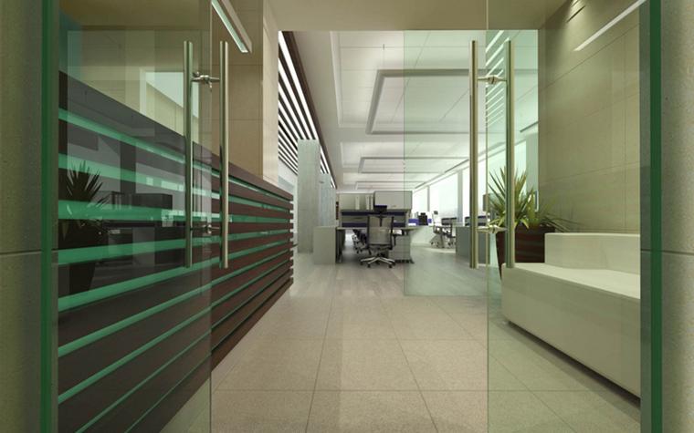 Дизайн офиса. офисы из проекта , фото №15376