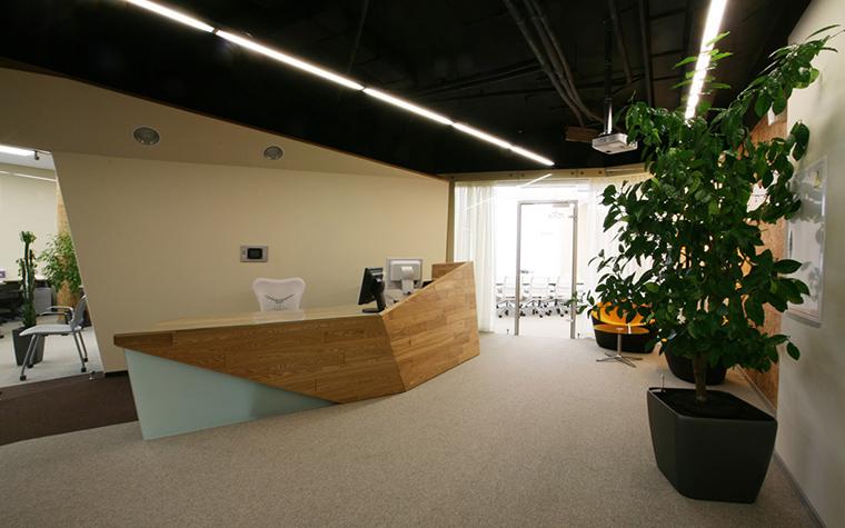 Дизайн офиса. офисы из проекта , фото №18541