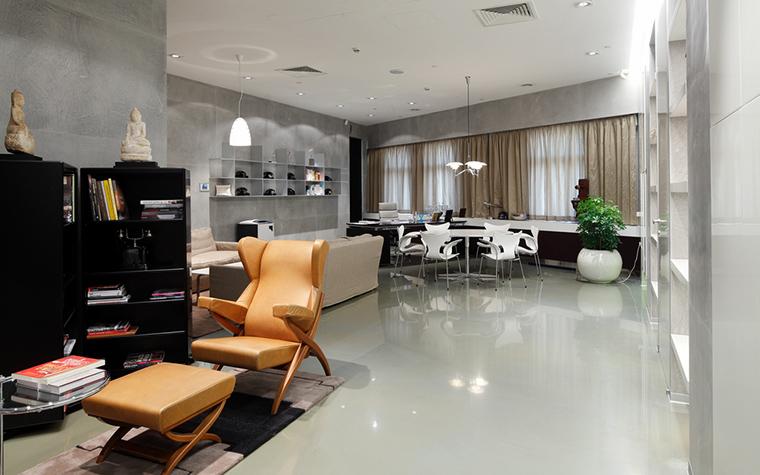 Дизайн офиса. офисы из проекта , фото №20924