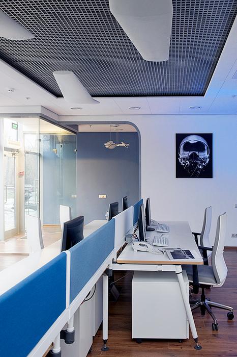 Дизайн офиса. офисы из проекта , фото №21616