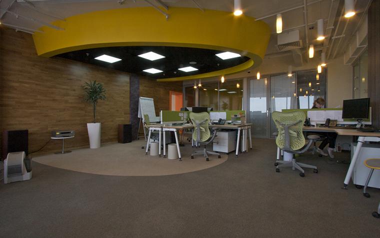 Дизайн офиса. офисы из проекта , фото №23745