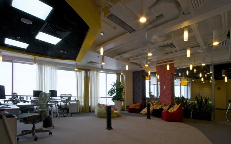 Дизайн офиса. офисы из проекта , фото №23748
