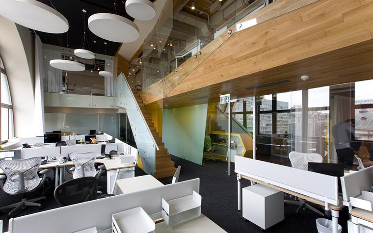 Дизайн офиса. офисы из проекта , фото №24015