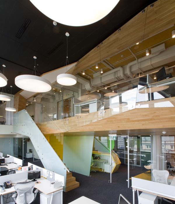 Дизайн офиса. офисы из проекта , фото №24017
