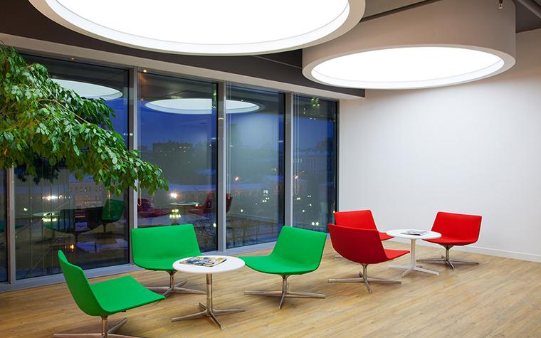 Дизайн офиса. офисы из проекта , фото №27615