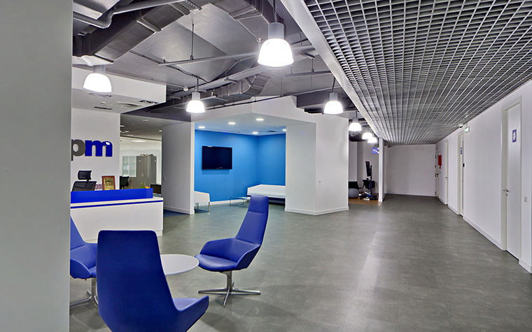 Дизайн офиса. офисы из проекта , фото №27638