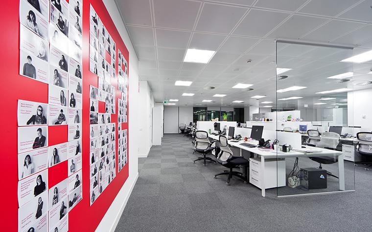 Дизайн офиса. офисы из проекта , фото №27644