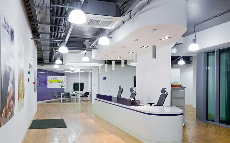Дизайн офиса. офисы из проекта , фото №27620