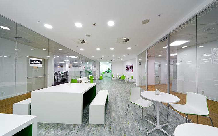 Дизайн офиса. офисы из проекта , фото №27622