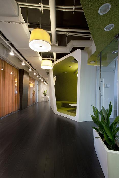 Дизайн офиса. офисы из проекта , фото №27808