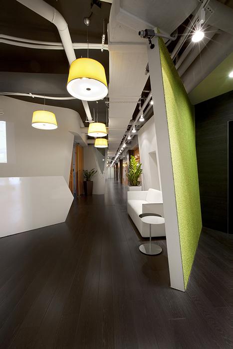 Дизайн офиса. офисы из проекта , фото №27791
