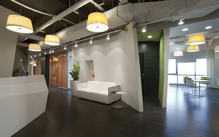 Дизайн офиса. офисы из проекта , фото №27792