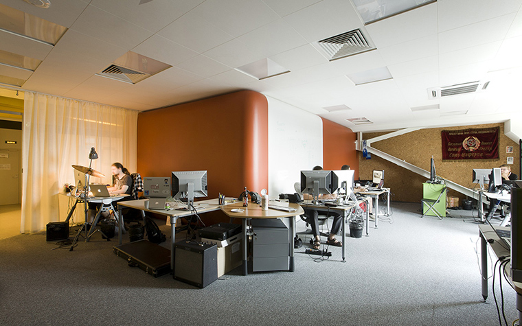 Дизайн офиса. офисы из проекта , фото №29972