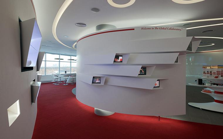 Дизайн офиса. офисы из проекта , фото №34807