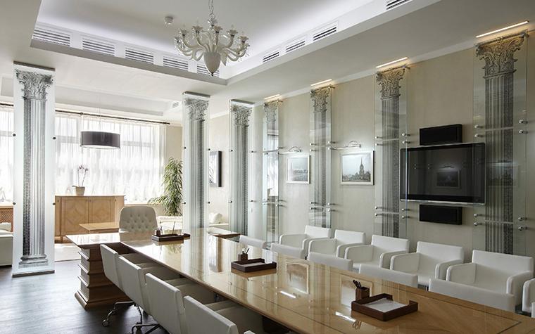 Дизайн офиса. офисы из проекта , фото №35483