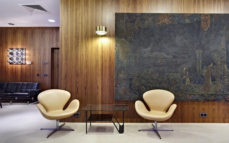 Дизайн офиса. офисы из проекта , фото №57130
