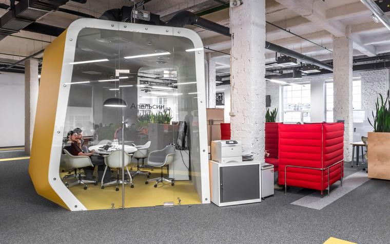 Дизайн офиса. офисы из проекта , фото №49184