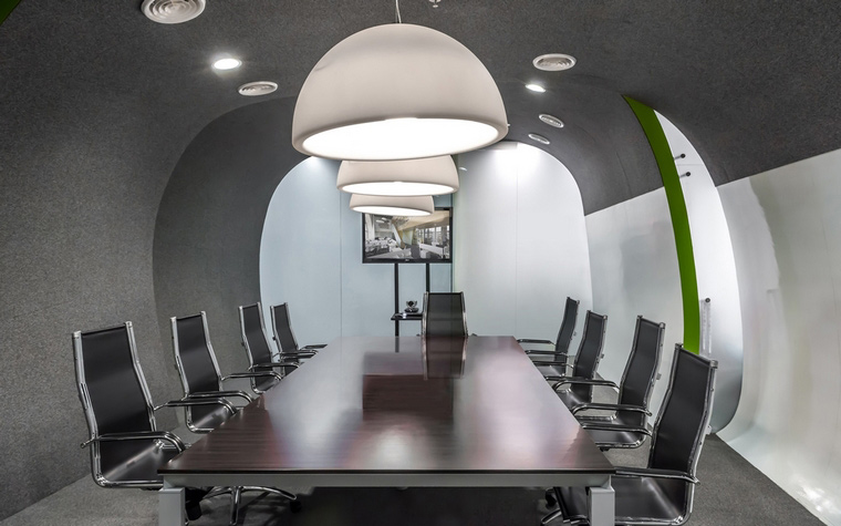Дизайн офиса. офисы из проекта , фото №49186