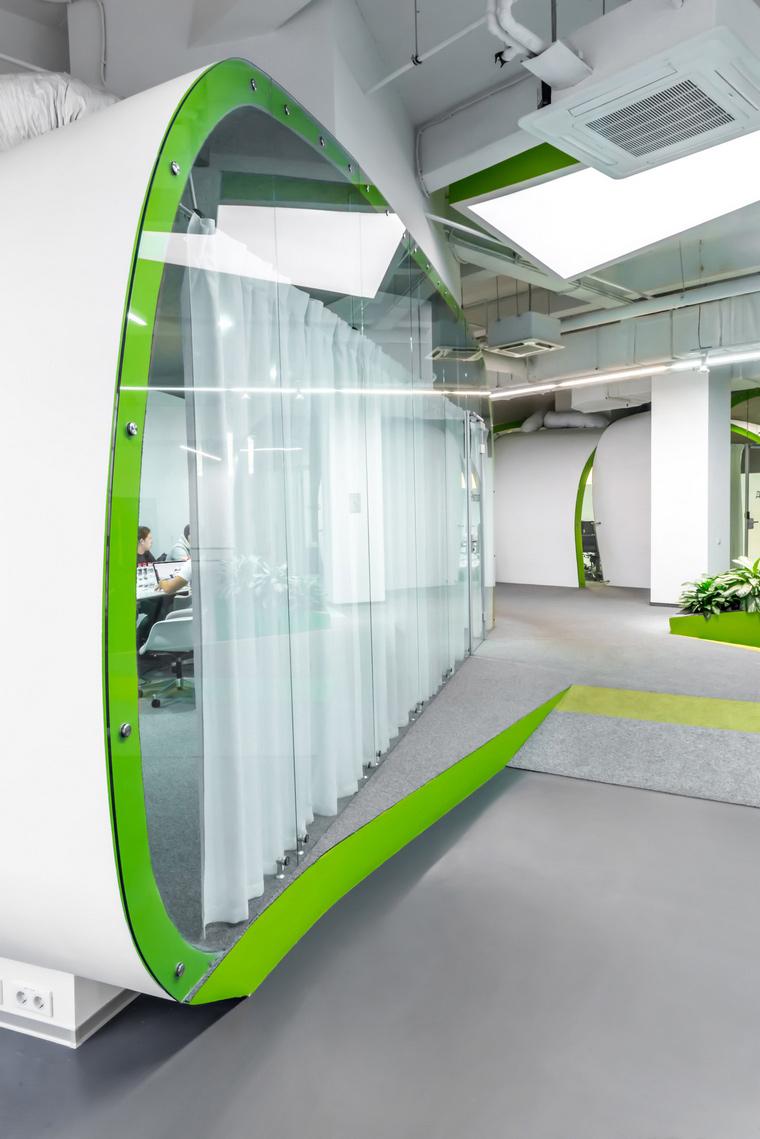Дизайн офиса. офисы из проекта , фото №49188
