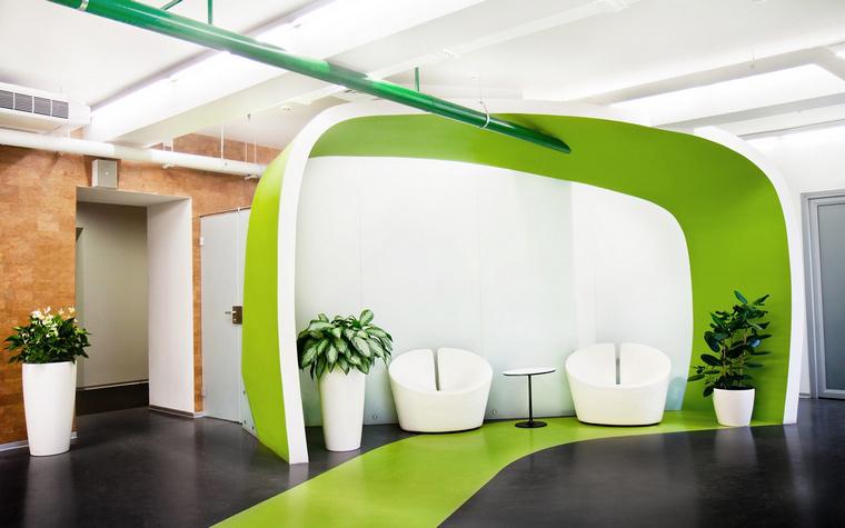 Дизайн офиса. офисы из проекта , фото №49196