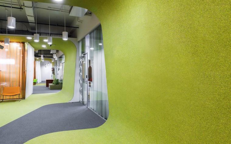 Дизайн офиса. офисы из проекта , фото №49179