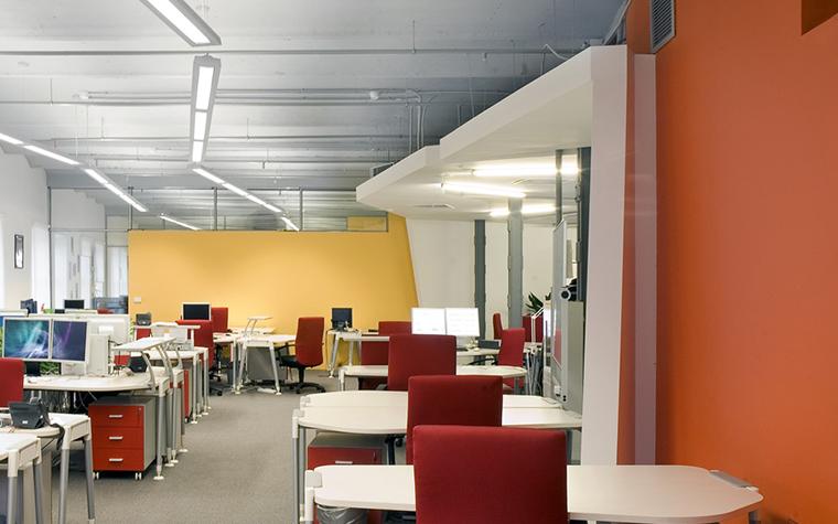 Дизайн офиса. офисы из проекта , фото №1161