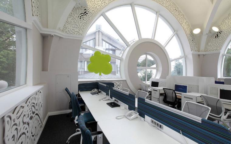 Дизайн офиса. офисы из проекта , фото №52924