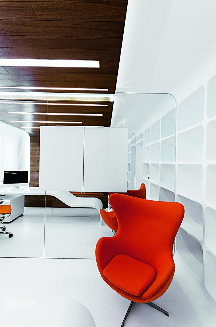10 кабинетов в стиле модерн и хай-тек