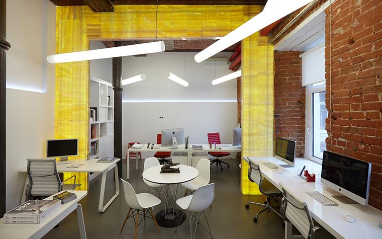 Дизайн офиса. офисы из проекта , фото №53832
