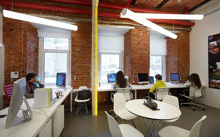 Дизайн офиса. офисы из проекта , фото №53841