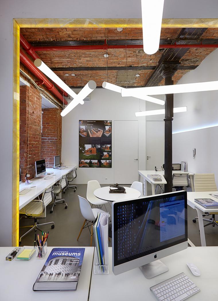 Дизайн офиса. офисы из проекта , фото №53836