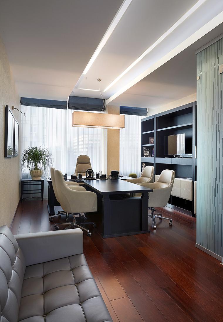 Дизайн офиса. офисы из проекта , фото №53934