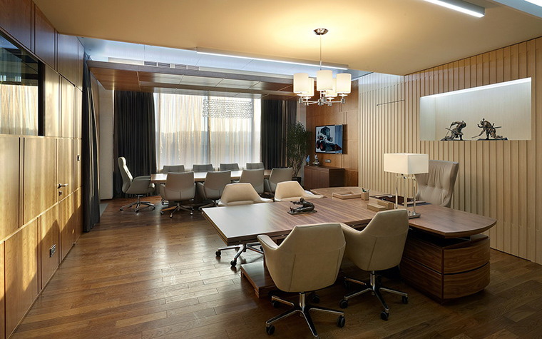 Дизайн офиса. офисы из проекта , фото №53943