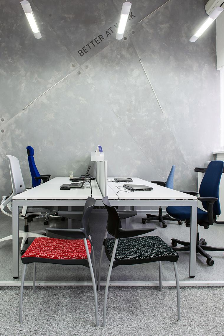 Дизайн офиса. офисы из проекта , фото №54570