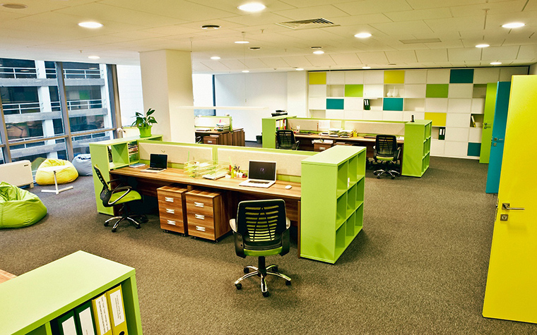 Дизайн офиса. офисы из проекта , фото №55396