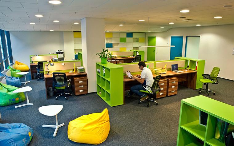 Дизайн офиса. офисы из проекта , фото №55398