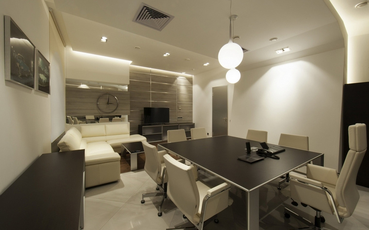 Дизайн офиса. офисы из проекта , фото №58186