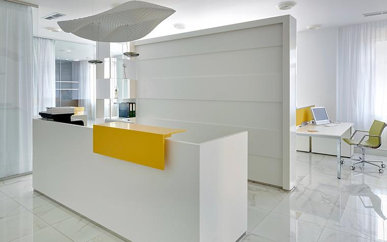 Дизайн офиса. офисы из проекта , фото №60371