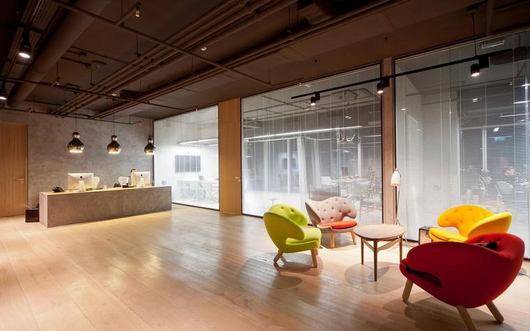 Дизайн офиса. офисы из проекта , фото №60539
