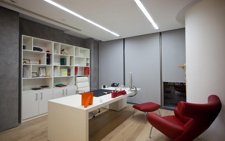Дизайн офиса. офисы из проекта , фото №60532