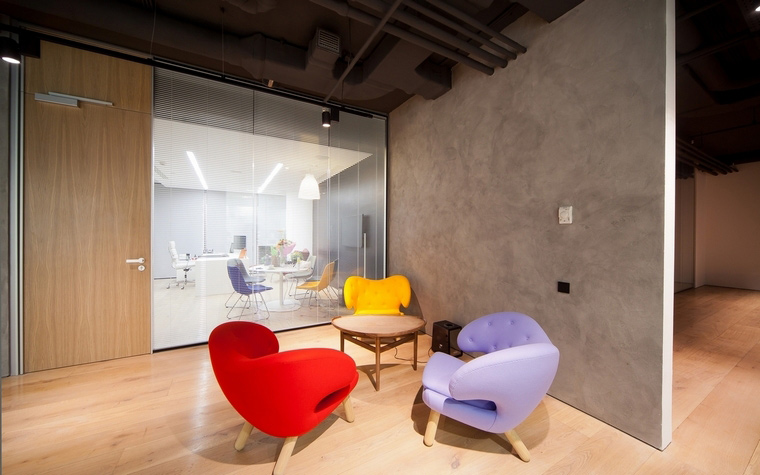 Дизайн офиса. офисы из проекта , фото №60533