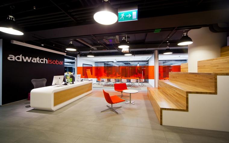 Дизайн офиса. офисы из проекта , фото №60537