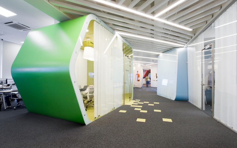 Фото № 61602 офисы  Дизайн офиса