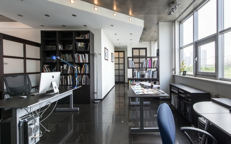 Дизайн офиса. офисы из проекта , фото №61902