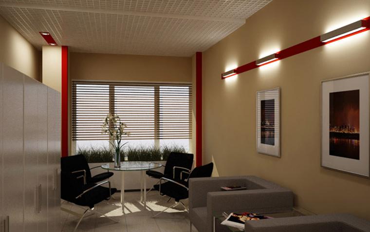 Дизайн офиса. офисы из проекта , фото №1981