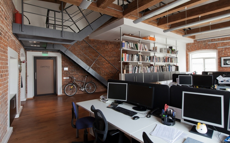 Дизайн офиса. офисы из проекта , фото №62700
