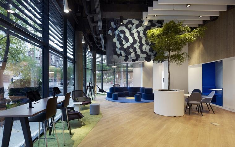 Дизайн офиса. офисы из проекта , фото №66037