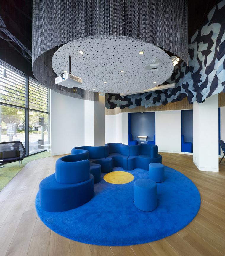 Дизайн офиса. офисы из проекта , фото №66022